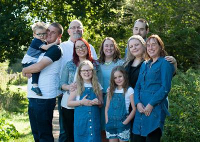 whole family photoshoot