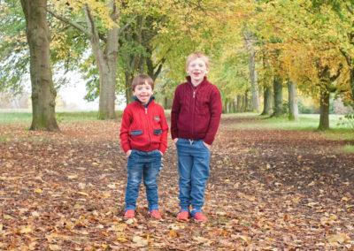 brothers in Farnham park