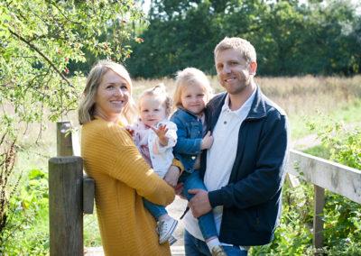 outdoor family shoot tongham