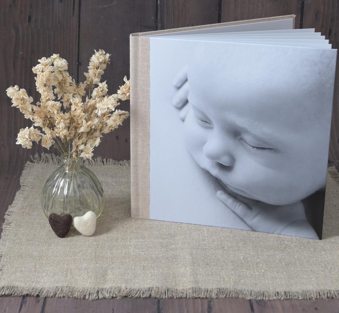 photobook of baby photos farnham